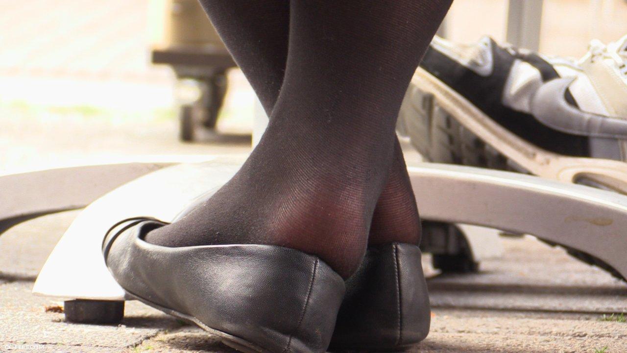 Stolen heels flats wedges off my sexy asian neighbour veronica - 4 5