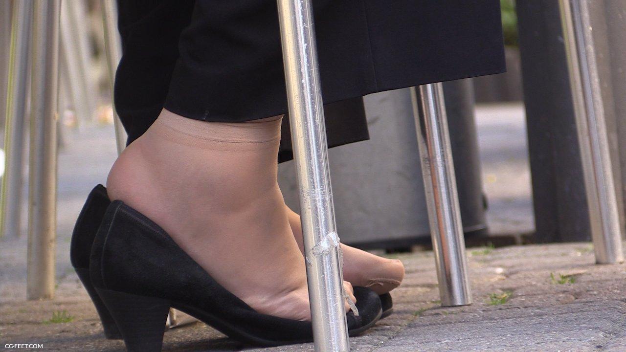 126 Thick Feet In Pumps Cc Feet Com