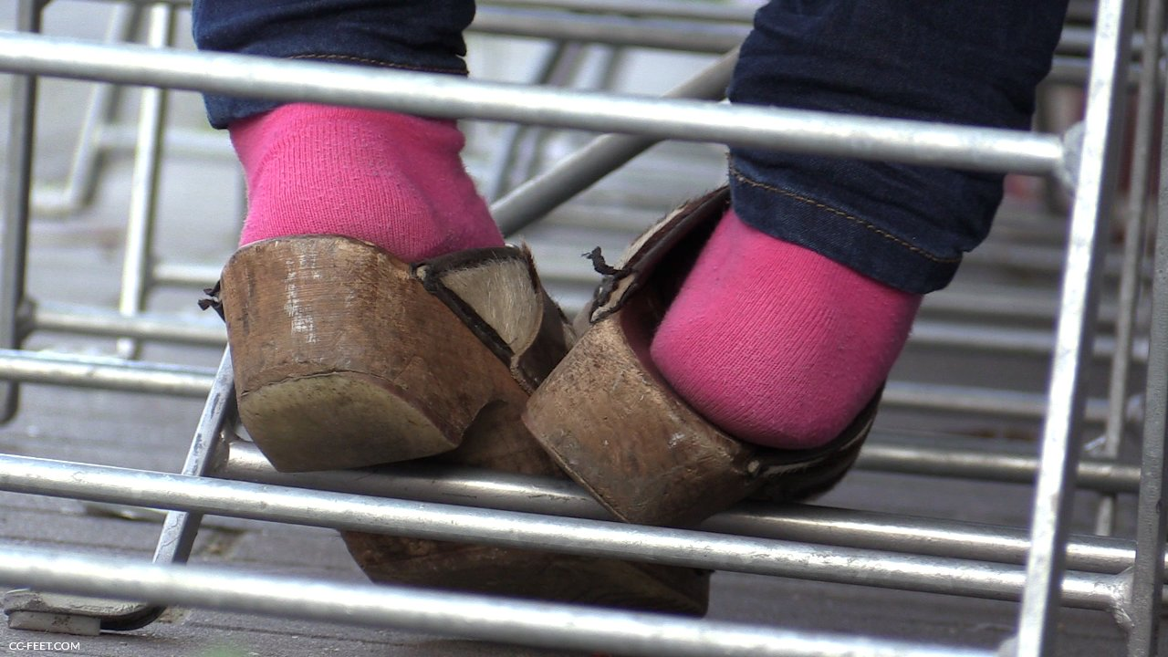 133 Dirty Pink Socks Cc Feet Com